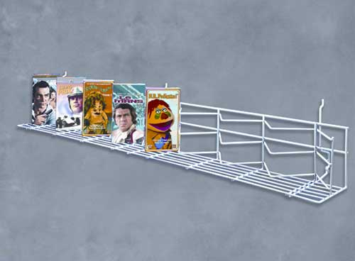"BLACK UNIVERSAL 48"" ZIG-ZAG SHELF (10-Pack)"