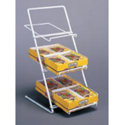 Slant Back Counter Candy Rack Display