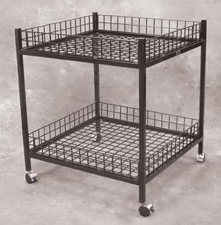 Mobile Dump Table Black