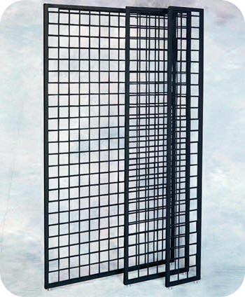 Framed Grid Panels Wire Grid Panel Wire Slat Grid Panels