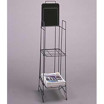 Magazine Rack Newspaper Display 21-500