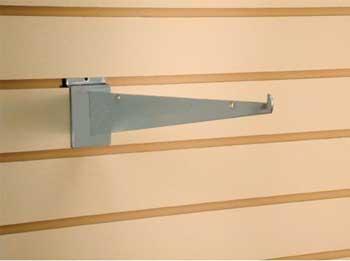 """CHROME 10"""" SLATWALL KNIFE BRACKET 10 Pack Item # 21-621"""