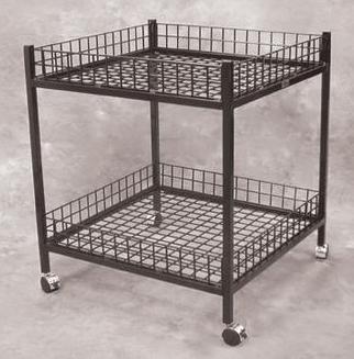 Mobile Dump Table Black