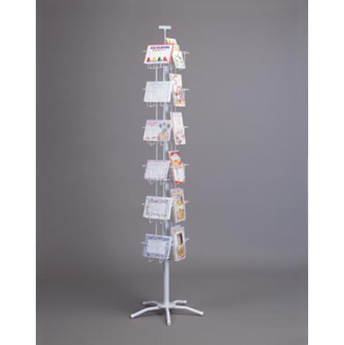 WHITE 24 POCKET COMBO CARD SPINNER 21-530